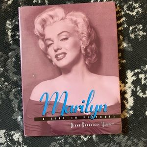 💘 Marilyn Monroe Large Coffee Table Picture Book